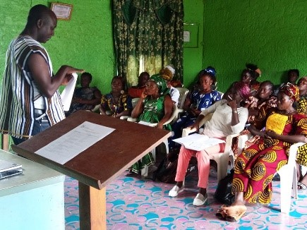Women Trained By COPDA Ready For Advocacy