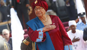 Ex-president Sirleaf Encourages protests in Zimbabwe